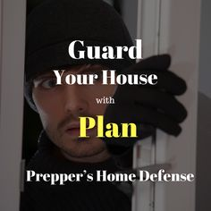 Guard Your House With Plan – Home Security Security Equipment, Home Defense, Alarm System, How To Plan, Tips, House, Home, Homes, Houses