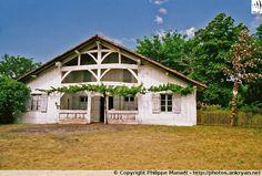 Maison du maître (Écomusée de Marquèze - Landes, Aquitaine)
