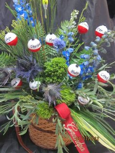 Fisherman tribute flowers by Marys Flowers, Saint Peter MN?