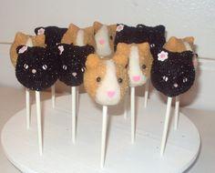 hamster cakepops