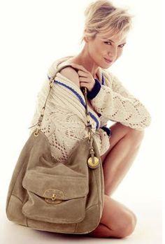 Renee Zellweger in the Tommy Hilfiger BHI Handbag campaign