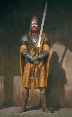 an archetype of Irish warriors in the early Middle Ages, he was a head of the guard.As an archetype of Irish warriors in the early Middle Ages, he was a head of the guard. Fantasy Warrior, Fantasy Rpg, Medieval Fantasy, Fantasy Artwork, Fantasy Character Design, Character Art, Character Concept, Fantasy Inspiration, Character Inspiration