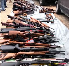 Los Angeles Police Seize Over Guns from Bel-Air Mansion - Ruger Revolver, Bel Air Mansion, Semi Automatic Rifle, Rifle Targets, Los Angeles Police Department, Aerial Footage, Bolt Action Rifle, Lever Action, Kids Ride On