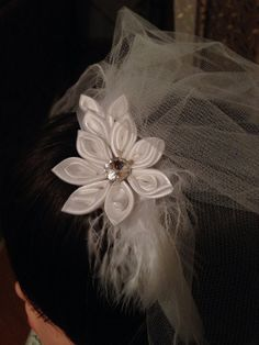 First communion headband by 3BusyBirds on Etsy, $18.00