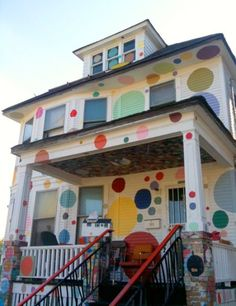 The Heidelberg Project by Tyree Guyton, Detroit