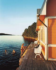 Summer vacation in the Finnish Archipelago (Åland)