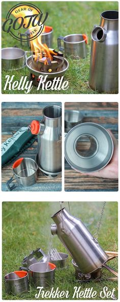 Kelly Kettle Sturmkanne | Trekker Kettle Set | Review – Test