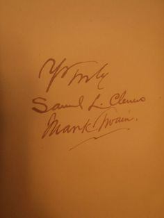 1896 PERSONAL RECOLLECTIONS OF JOAN OF ARC, 1ST-MARK TWAIN/SAMUEL CLEMENS SIGNED