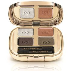 Dolce & Gabbana Makeup Wild About Fall Smooth Eye Colour Quad... (180 BRL) ❤ liked on Polyvore featuring beauty products, makeup, eye makeup and eyeshadow