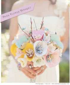 absolutely beautiful paper flowers