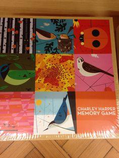 Pairs game Charley Harper, Memory Games, Presents, Kids Rugs, Pairs, Memories, Home Decor, Gifts, Memoirs
