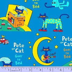 Pete The Cat Flannel