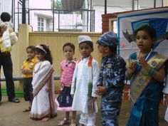We associate patience as a quality with adults. These children exhibited this quality in abundance Indian Independence Day, Abundance, Patience, Sari, Children, Celebrities, Dresses, Fashion, Saree