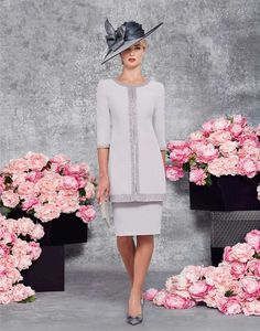 Veni Infantino Mother of the Bride Dresses from Vanity Fair. Glamour and style mixed with high quality fabrics make these dresses a very popular choice.