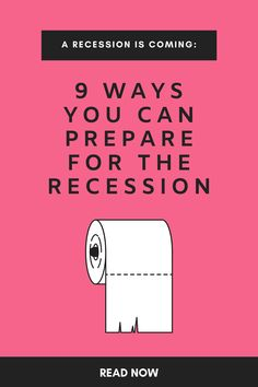 Many people are predicting a recession will hit in the next year. Here are 11 things you need to do to recession proof your finances immediately. Financial Peace, Financial Tips, Financial Planning, Money Tips, Money Saving Tips, Budgeting Money, Saving Ideas, Money Matters, Money Management