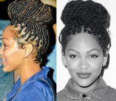 Meagan Good Rocks Faux Locs and Zendaya Coleman Shows Off Her Natural Curls