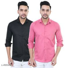 Shirts Designer Men Shirts Fabric: Satin Sleeve Length: Long Sleeves Pattern: Solid Multipack: 2 Sizes: XL (Chest Size: 42 in Length Size: 30 in)  L (Chest Size: 40 in Length Size: 29 in)  M (Chest Size: 38 in Length Size: 28 in) Country of Origin: India Sizes Available: M, L, XL   Catalog Rating: ★4 (479)  Catalog Name: Urbane Men Shirts CatalogID_676271 C70-SC1206 Code: 884-4660438-6321