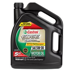 Castrol Edge with Syntec Power Technology 5W30 Motor Oil, 5 qt