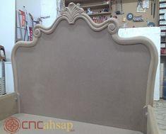 Düz Cnc Kesim Ahşap Dekoratif Yatak Başlık | Plain Cnc Cut Wooden Decorative Bed Head