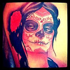 #catrina #dayofthedead #deadgirl #diademuertos #portrait #sylviaji #realistic #tattoo #cancadaver #bonitocadaver #boniccadavertattoo #barcelona #calella