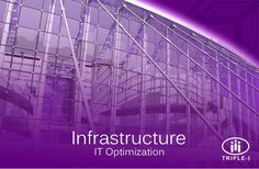 Discover IT Optimization and the Infrastructure technologies and activities our experts can execute for you. http://triplei.com/what/it-optimization/infrastructure