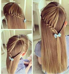 Hermoso! Tu pequeña lucirá hermosa con este peinado