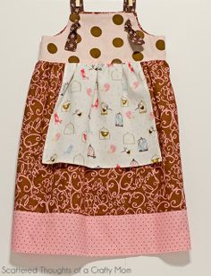 Knot dress tutorial with free pattern (is it wrong that I want one of these for me?)