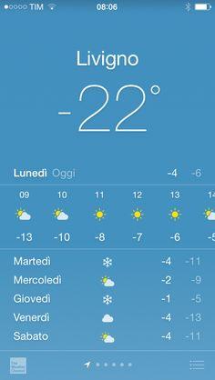 ★★★ Good morning from #Livigno   Visit www.livignolife.it