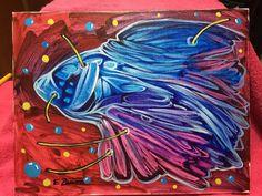 Surreal Landscape Fish Painting Cuban Art Cuban Artist Enrique Zaldivar | eBay
