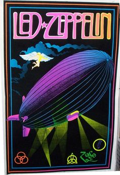 Black light posters were huge.