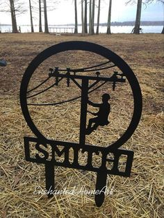 LineWife Official Series Lineman on Pole Cookie Cutter