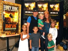 Toby mac and his family
