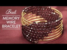 (519) Memory Wire Bracelet Tutorial - Bead House - YouTube