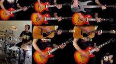 Hotel California - Eagles - Guitar Bass Drum Cover - YouTube
