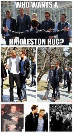 Tom Hiddleston, Jeremy Renner, Chris Hemsworth, Chris Evans, Mark Ruffalo, Robert Downey Jr. and Scarlett Johansson (2012)