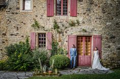 Rustic Frenchness just oozing out of this shot in The Dordogne - loved it :) Dordogne French countryside wedding. Destination wedding photography by www.pixiesinthecellar.co.uk