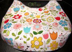 One Handle Bag Sew Tutorial & Pattern Diy Bags Purses, Fabric Purses, Fabric Bags, Bag Pattern Free, Bag Patterns To Sew, Sewing Patterns Free, Hobo Bag Tutorials, Sewing Tutorials, Sewing Projects