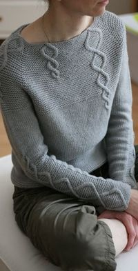 Baby Cables and Big Ones Too pattern by Suvi Simola