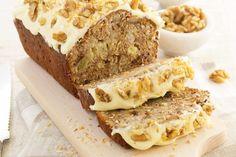 Coconut banana walnut bread