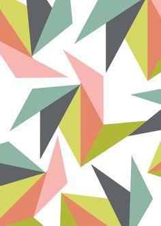 Scandinavian - Origami Print Art by ugursarac
