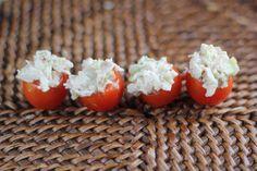 Stuffed Cherry Tomatoes - A Zesty Bite