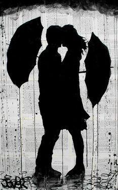 """Saatchi+Online+Artist+Loui+Jover;+Drawing,+""""umbrellas+(SOLD)""""+#art"""