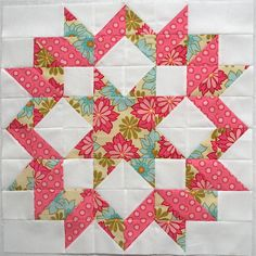 I have always liked the simplicity and beauty of this quick to put together quilt.