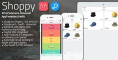 Shoppy | iOS Universal eCommerce App Template (Swift) #Buyer, #Ecommerce, #Facebook, #Finder, #Fun, #Fvimagination, #Shop, #Social, #Store, #Twitter https://goo.gl/vjA0gH