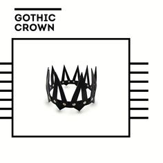 """Do you feel like a queen or a king of any party? But the real aristocrat needs a crown. Exclusive leather crown from """"NovaHarness"""" is what you need! Gothic Crown, Valentines Lingerie, Leather Harness, Head Accessories, Queen, Gothic Fashion, Female Bodies, Etsy Seller, King"""