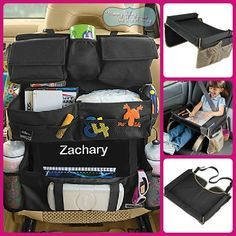 """Mommylivingthelifeofriley recommends One Step Ahead for Family Travel!  """"Long car trips don't have to be a pain for everyone involved.  One Step Ahead, makers of some of the most innovative and creative children's products anywhere, have done it again with two amazing backseat additions for your holiday travels.."""""""