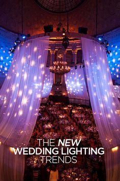 Wedding Lighting, Stortz Lighting, Intelligent Lighting Design, Video Mapping, LED Lighting, Chandeliers || Colin Cowie Weddings