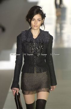https://tc-jp.com/products/chanel-03a-texured-leather-jacket-like-new-f40 Chanel Throwback: sheer, black, jacket