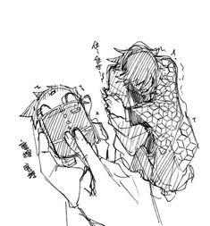 Anime Ships, Anime Demon, Slayer Anime, Manga Cute, Fantasy Demon, Attack On Titan Anime, Demon, Art, Cubist Art