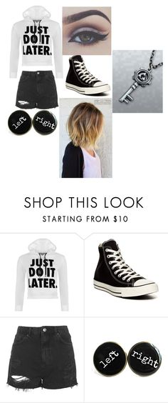 """Untitled #64"" by bebozuuuu ❤ liked on Polyvore featuring WearAll, Converse, Topshop, women's clothing, women, female, woman, misses and juniors"